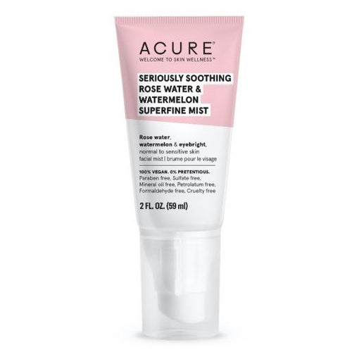 acure Bruine superfine Seriously Soothing Rose Water & Watermelon