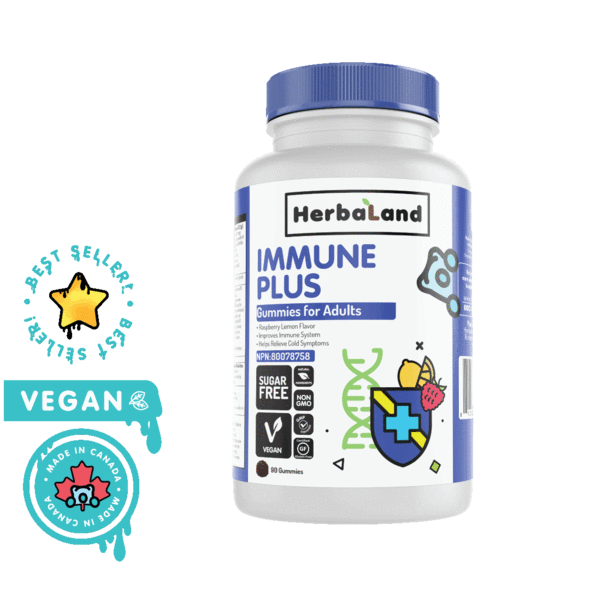 herbaland gummies immune plus