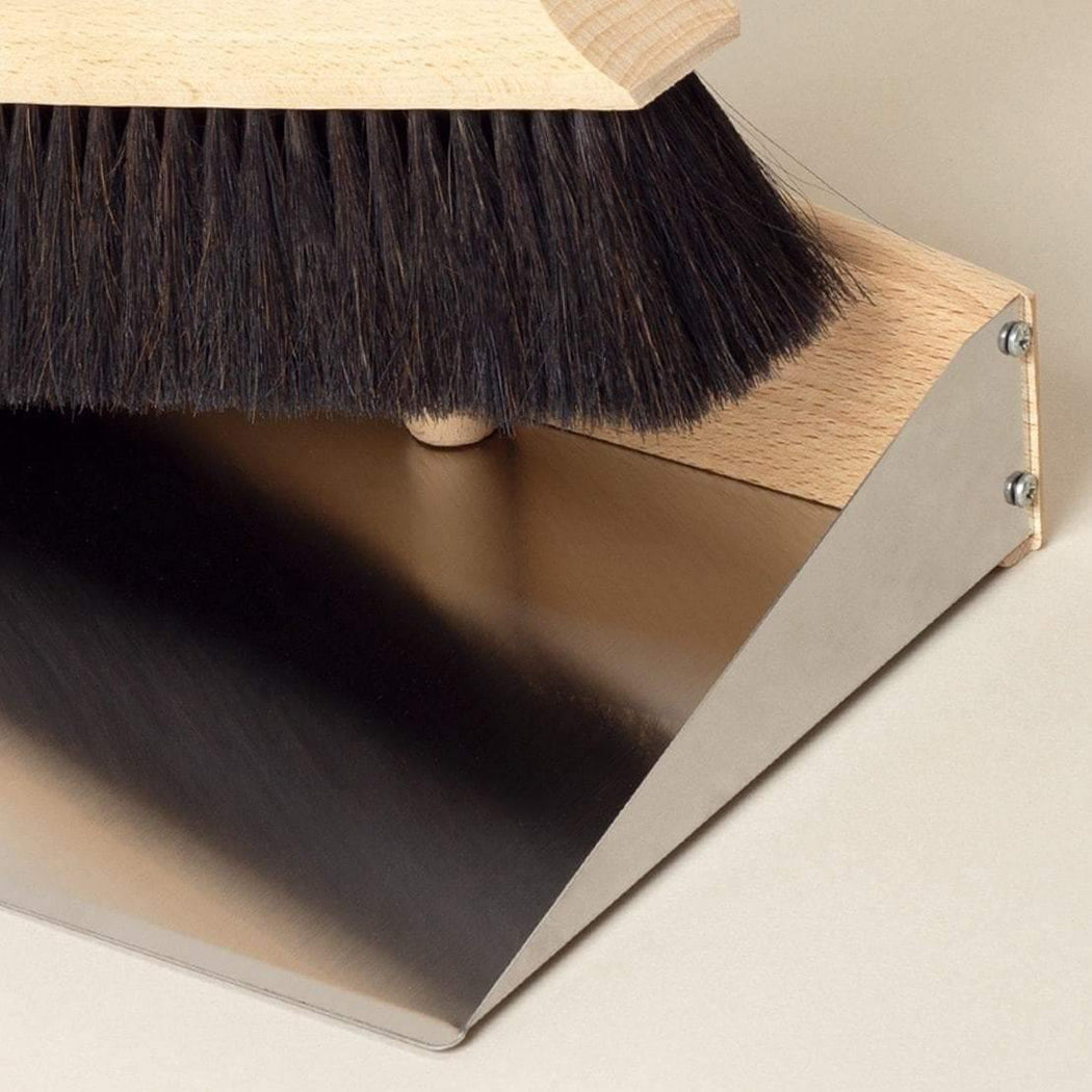 Standing Up Dustpan and Brush