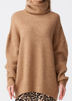 "Olga Sweater "" Camel  """