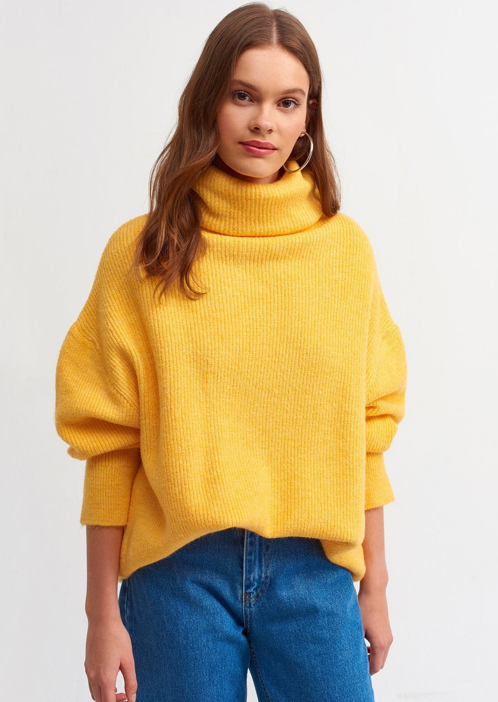 "Olga Sweater "" Yellow """