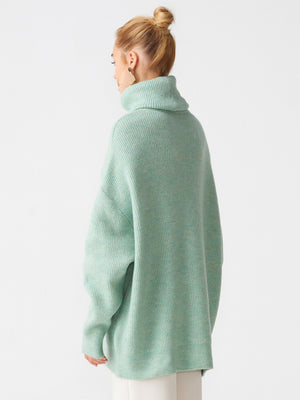 "Olga Sweater "" Pistachio Green """