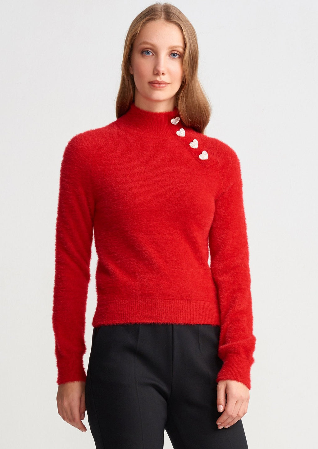 "Sofia Sweater "" Red """