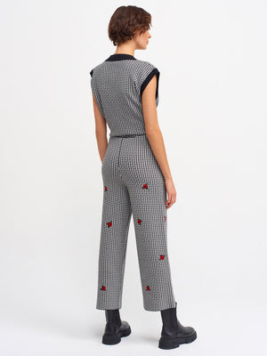 Tina Embroidered Pants