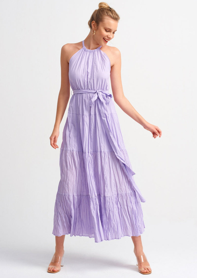 "Nicole Dress "" Lilac """