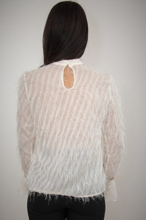 Estelle Blouse ( Cream )