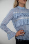 Estelle Blouse ( Blue )