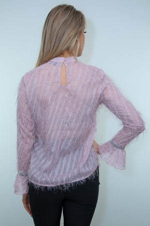 Estelle Blouse ( Pink )