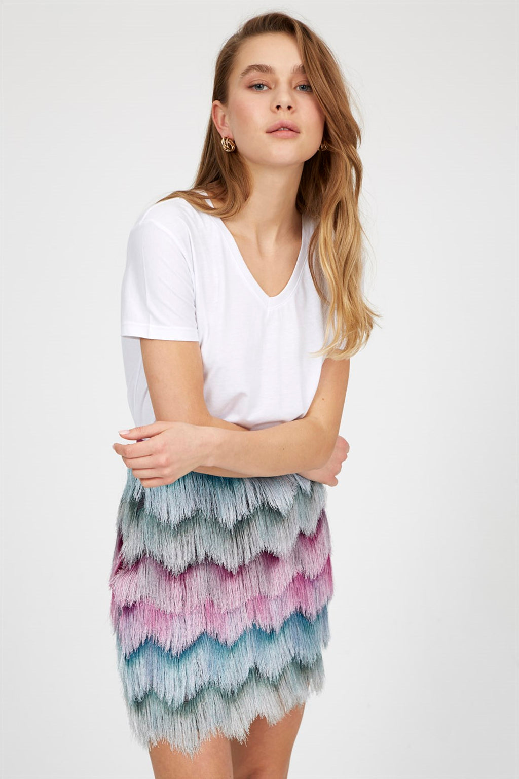 "Noura skirt "" Purple """