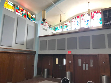 Acoustic Treatments for Churches and Other Places of Worship