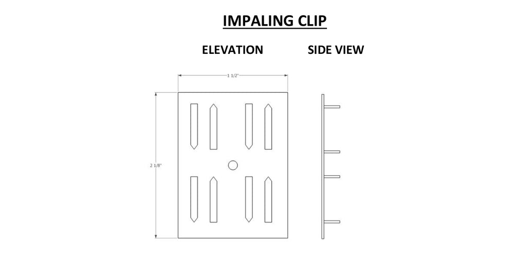 ADW Impaling Clip Mounting Instructions