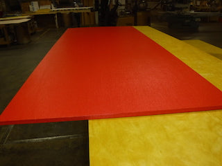 Acoustical panel clearance