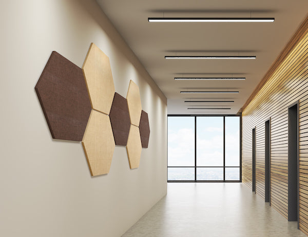 Acoustic Panels Hexagons