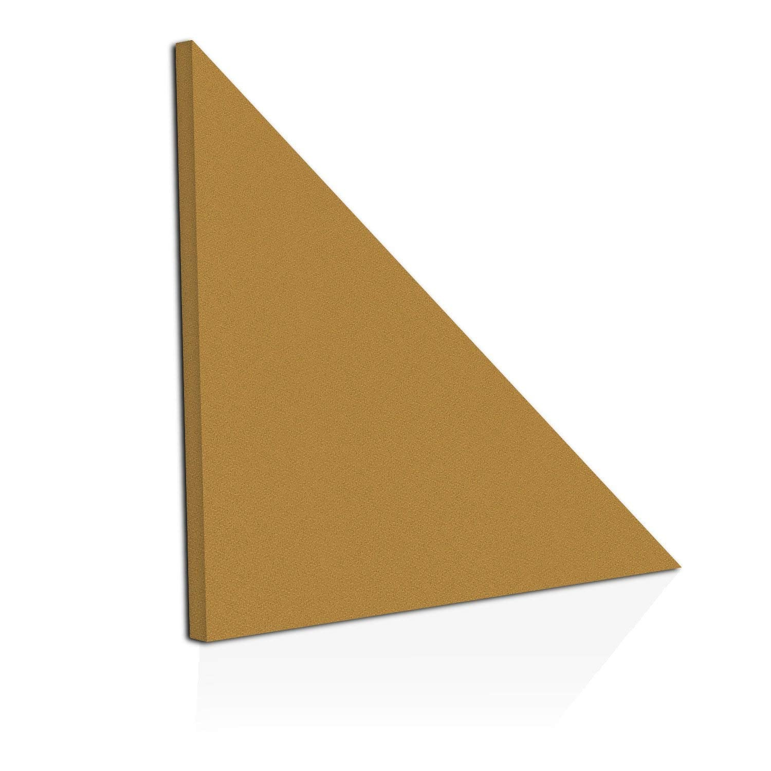 "[2-Pack] ADW Acoustic Panels 24"" X 24"" X 2"" Half-Square - Easy DIY Install - See Our Many Colors"