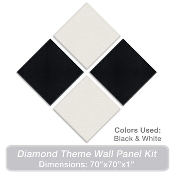 ADW Acoustic Panels Diamond Theme Kit - 70