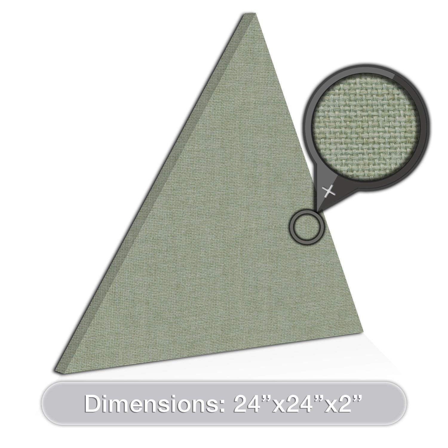 "ADW Acoustic Panel Equilateral Triangle - 24"" x 2"""