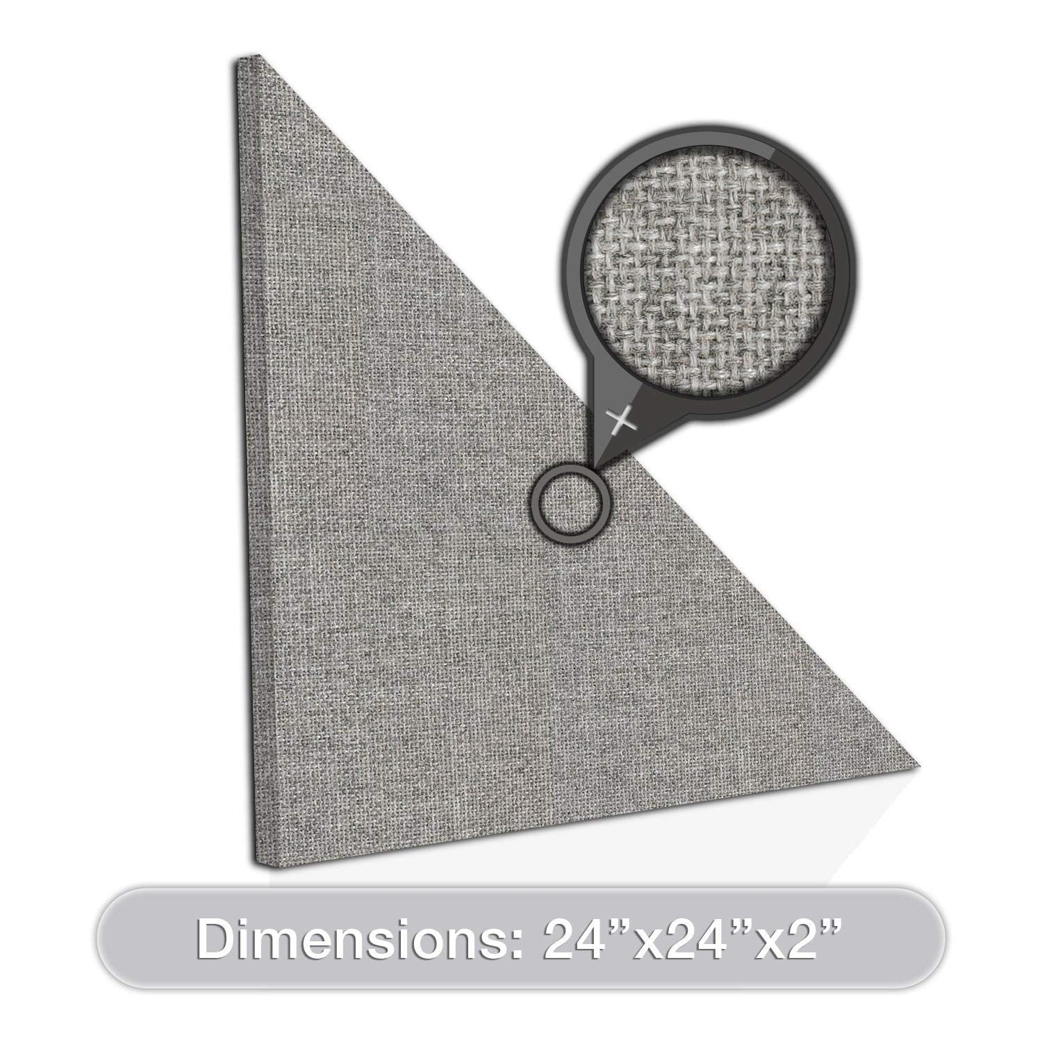 "ADW Acoustic Panel Right Triangle - 24"" x 2"""