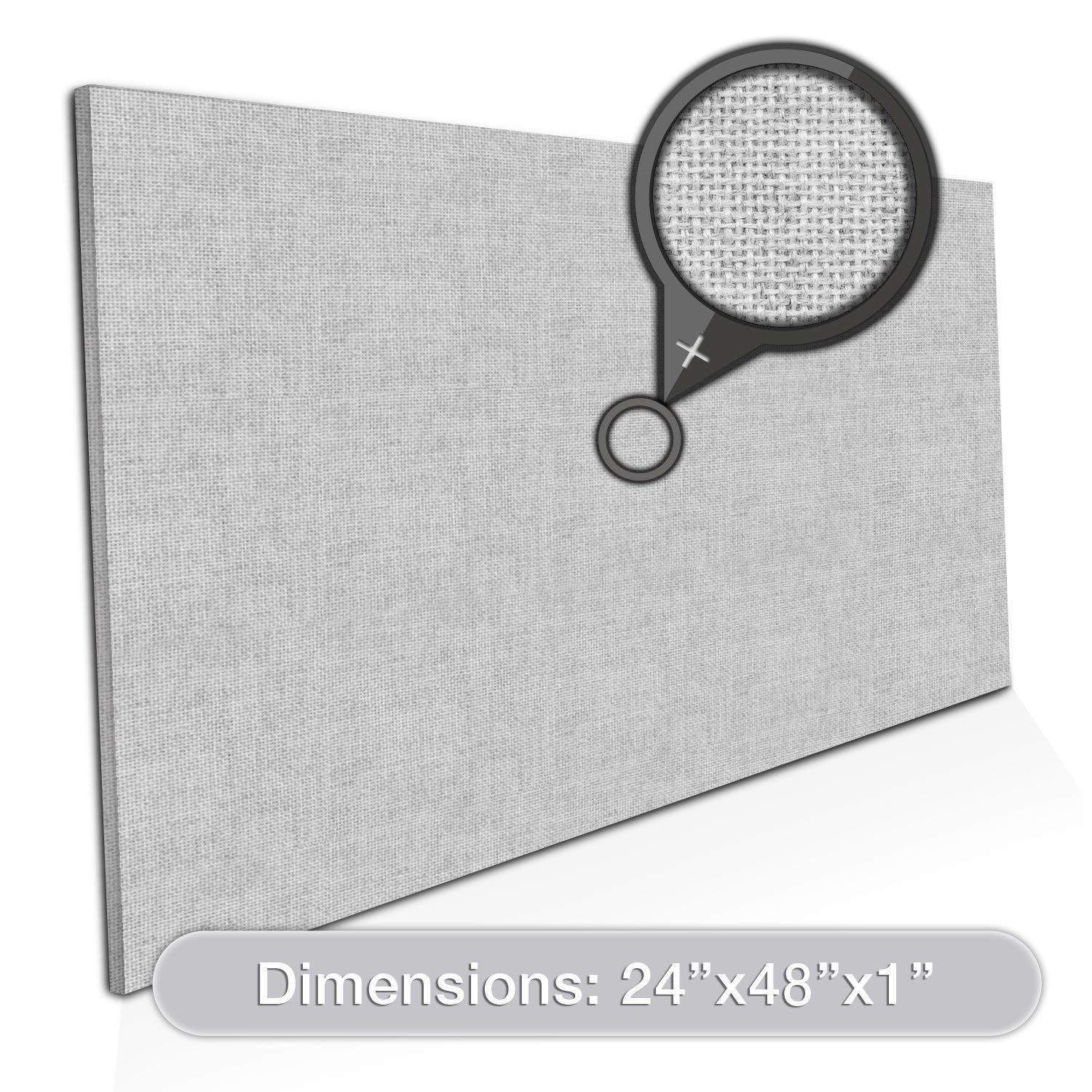 "ADW Acoustic Panel Rectangle - 48"" x 24"" x 1"""