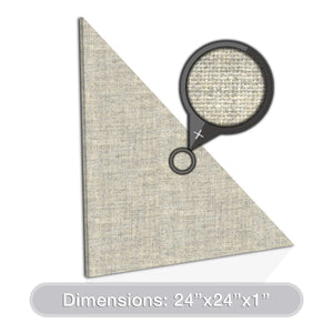 "ADW Acoustic Panel Right Triangle 24"" x 1"""