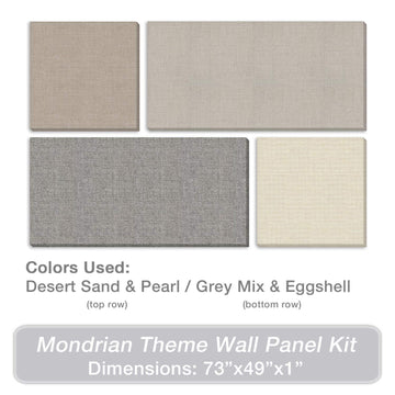 ADW Acoustic Panels Mondrian Kit - 73