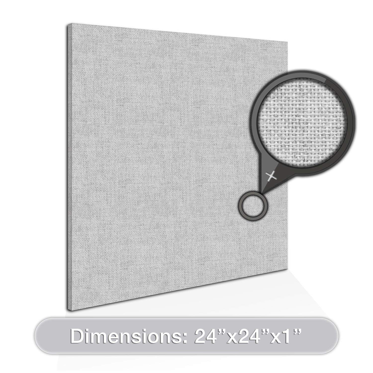 "ADW Acoustic Panel Square - 24"" X 24"" X 1"""