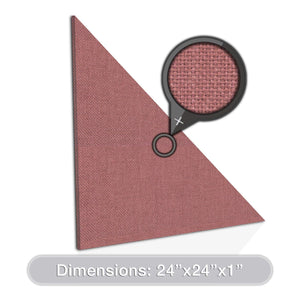 "ADW Acoustic Panel Right Triangle - 24"" x 1"""