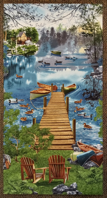 Artistic Panel - Fishing Dock