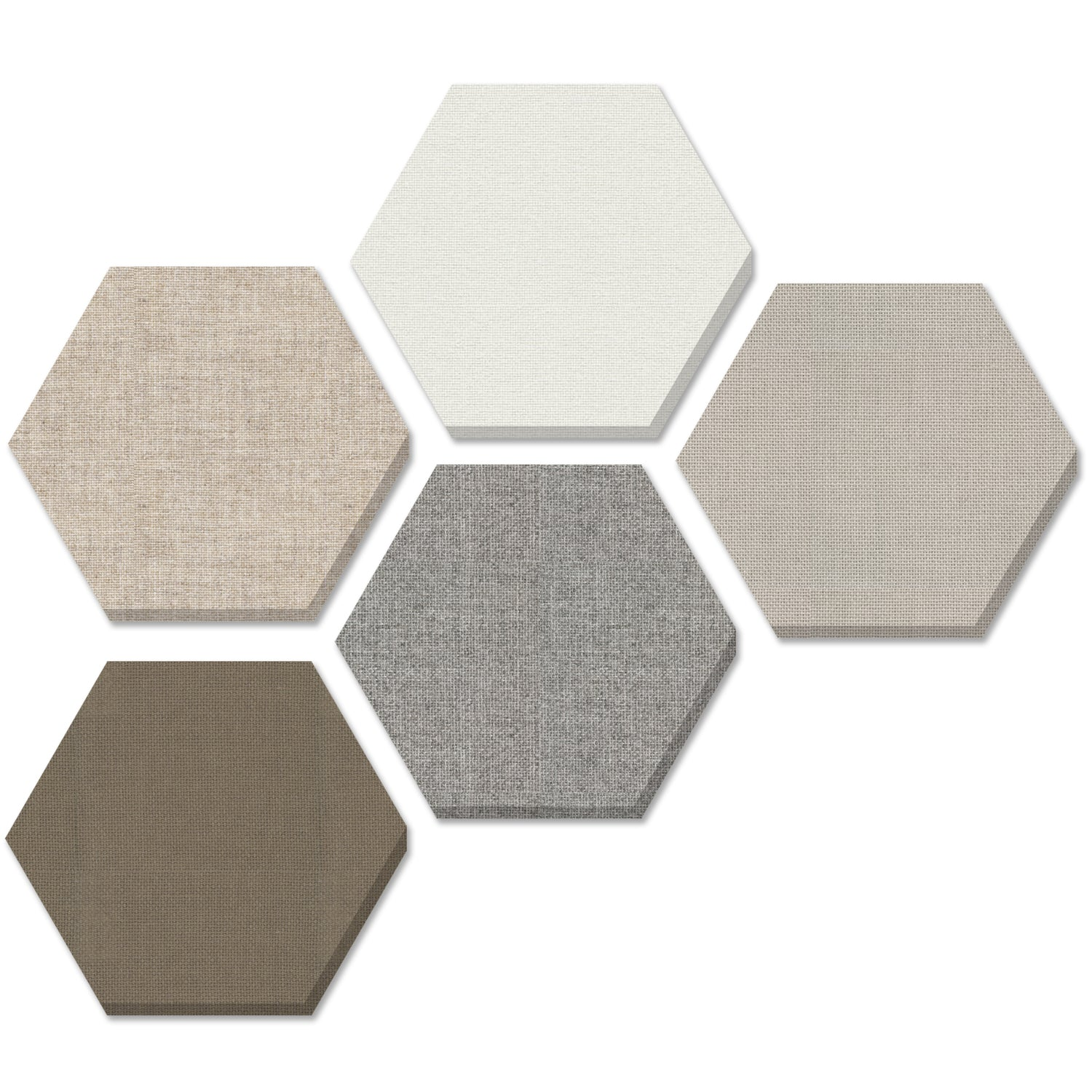 ADW Acoustic Panel Hexagon Kit - 5 pieces 24