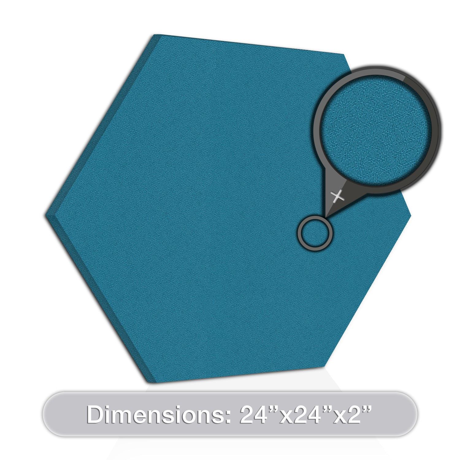 [2-Pack] ADW Acoustic Panel Hexagon - 24