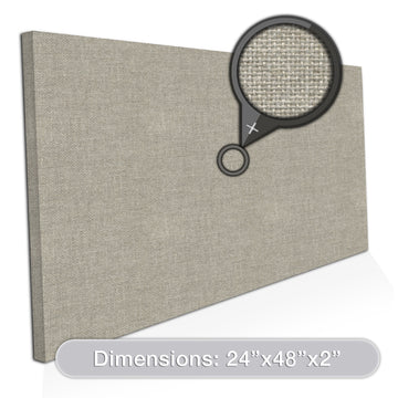 [2-Pack] ADW Acoustic Panel Rectangle - 48