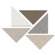 "ADW Acoustic Panel Right Triangle Kit - 5 Pieces 24"" x 24"" x 34"" x 1"""