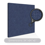 "[2-Pack] ADW Acoustic Panels Square - 24"" X 24"" X 2"""