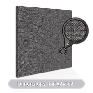 "ADW Acoustic Panel Square - 24"" X 24"" X 2"""
