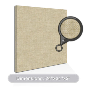 "ADW Acoustic Panels 24"" X 24"" X 2"" Square - Quick Easy DIY Install - See Our Many Color Choices"