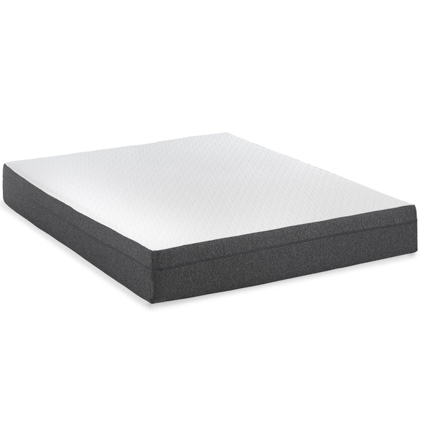 "10"" Gel Infused - Medium - Memory Foam Mattress - BlissfulNights.com"