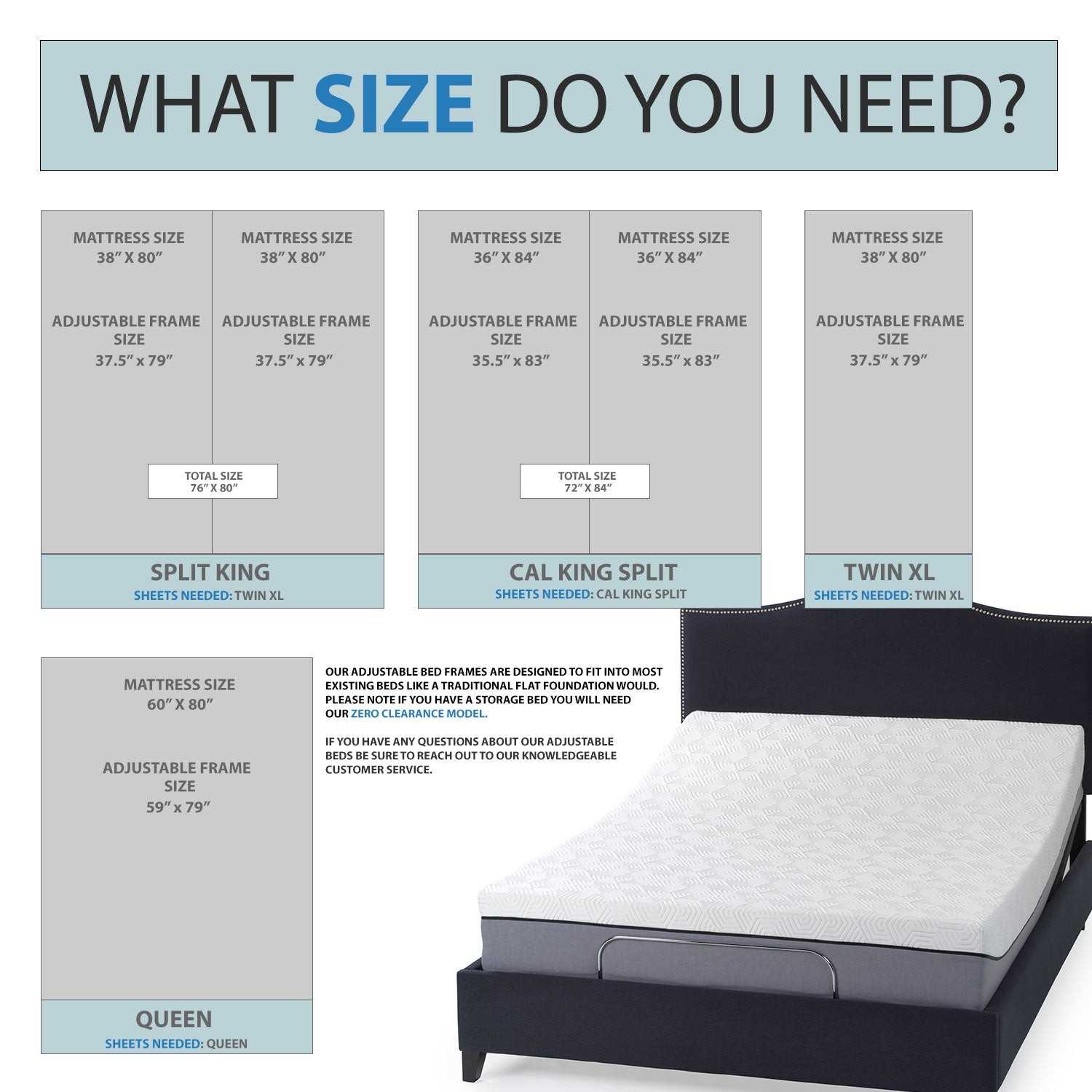 Size-chart-for-Split-California-King-and Flex-Top-California-king-Adjustable-Beds