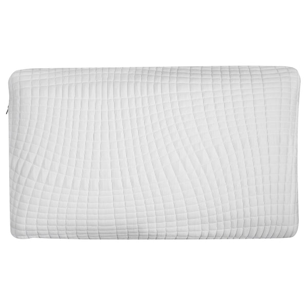 Ventilated Charcoal Bamboo Infused Memory Foam Pillow - Washable Cover - BlissfulNights.com
