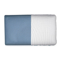 Ventilated Gel Infused Memory Foam Pillow - Washable Cover