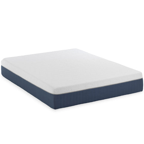 "12"" Hybrid - Medium Plush - Cool Gel Infused Memory Foam and Spring Mattress"