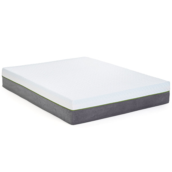 "12"" Copper Gel Infused - Medium Firm - Premium Memory Foam Mattress - BlissfulNights.com"