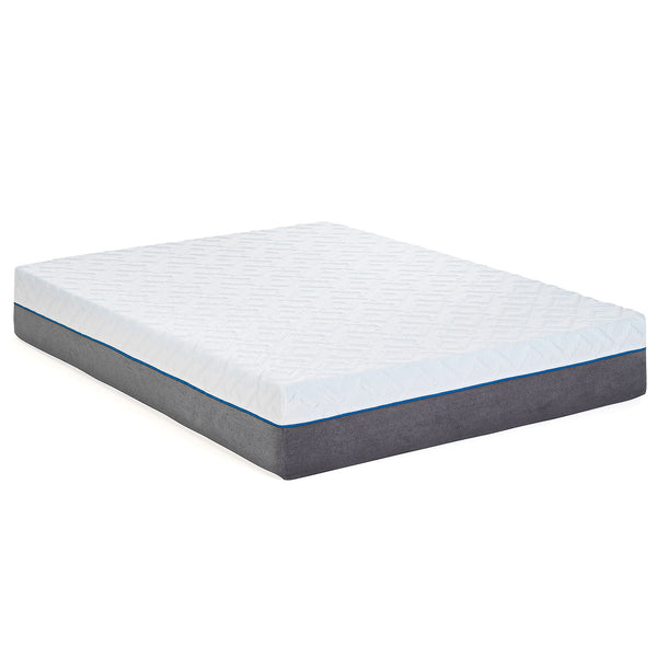 "12"" Gel Infused - Plush - Premium Memory Foam Mattress - BlissfulNights.com"