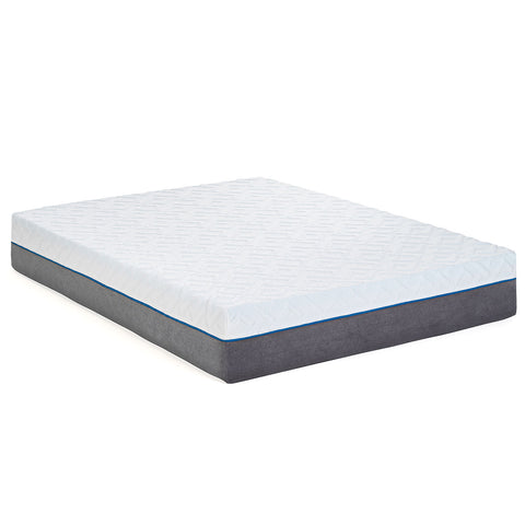 "12"" Gel Infused - Plush - Premium Memory Foam Mattress"