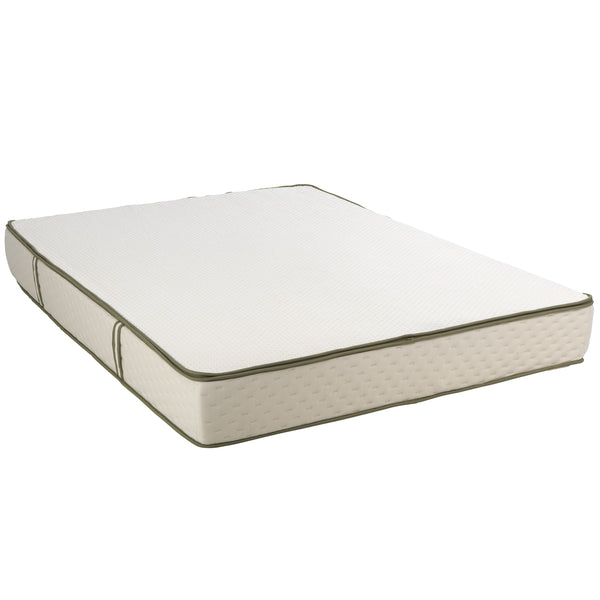 "9"" Dual Comfort Talalay Natural Latex Flippable Mattress - Medium Soft - Medium Firm - BlissfulNights.com"