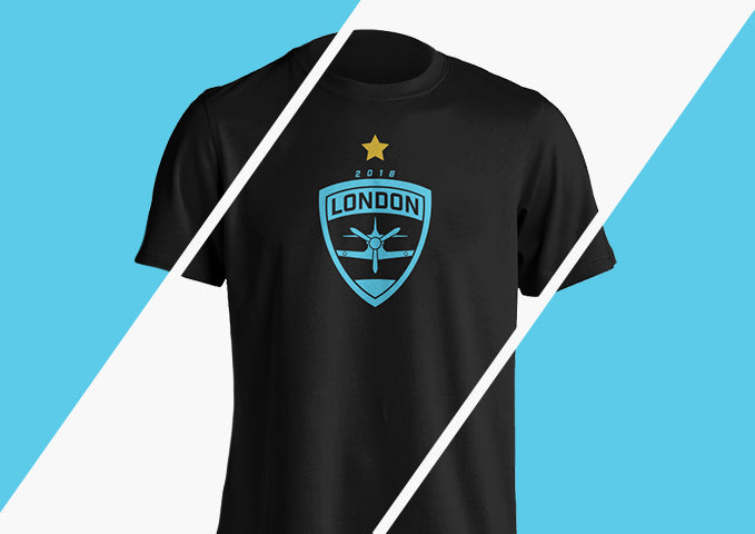 London Spitfire Championship Tee
