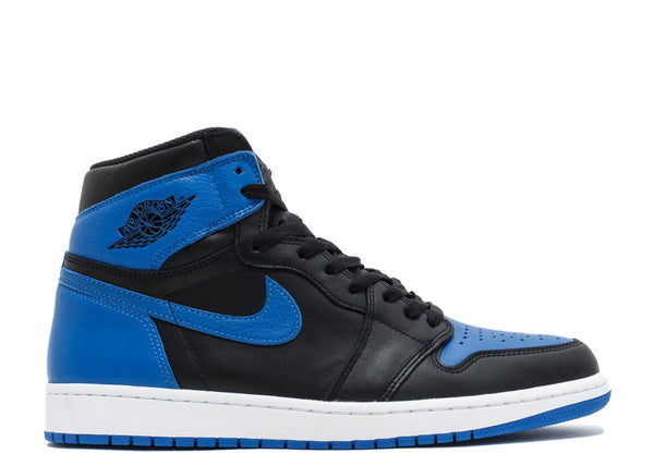 Jordan 1 Retro Black Royal Blue - kicks International