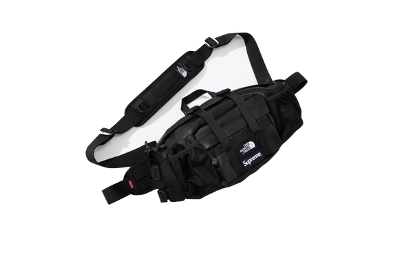 Supreme Leather Mountain Waist Bag 'Black' - kicks International