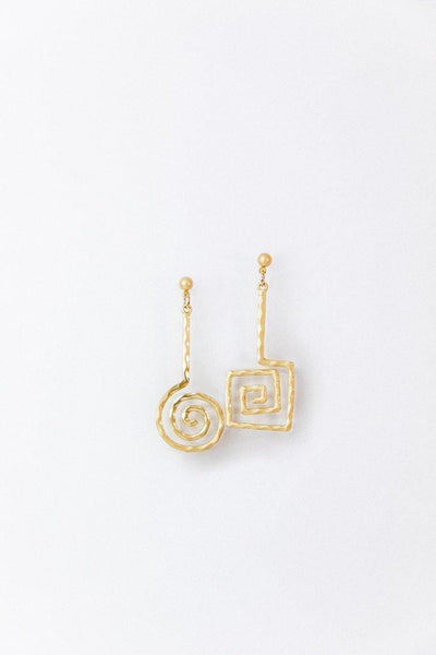 Bonet Asymmetrical Earrings