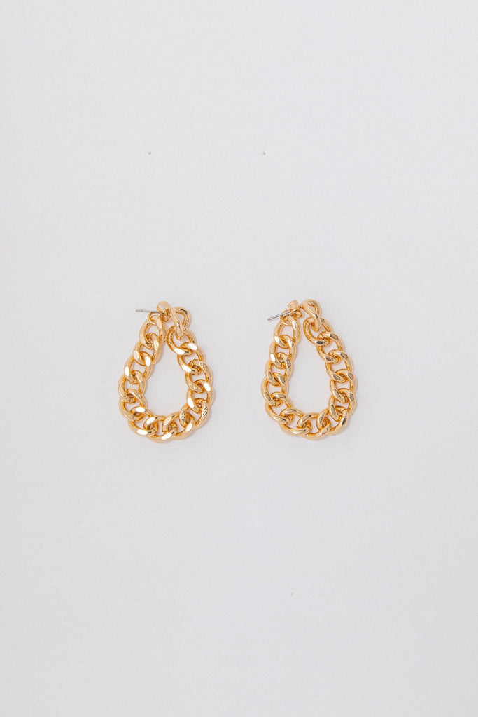 Wrap Chain Earring