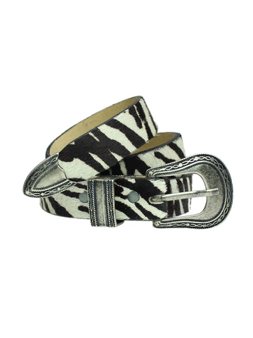 Cinto Zebra Animal Print