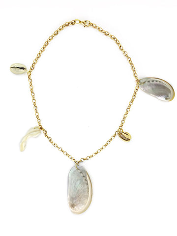 Conchas Shine Necklace